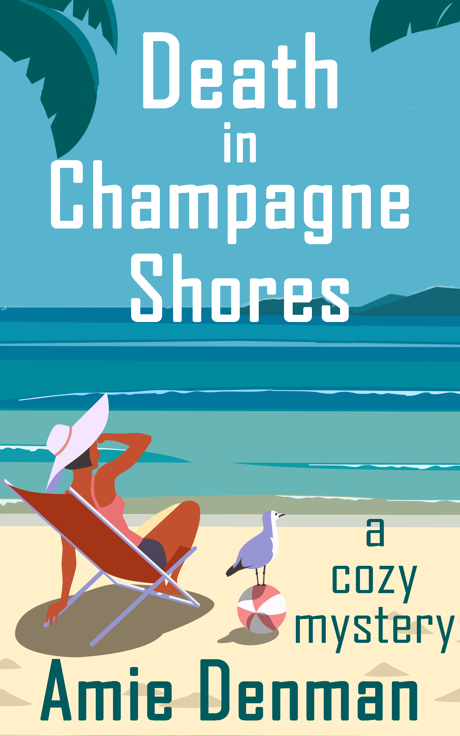 Death in Champagne Shores cover