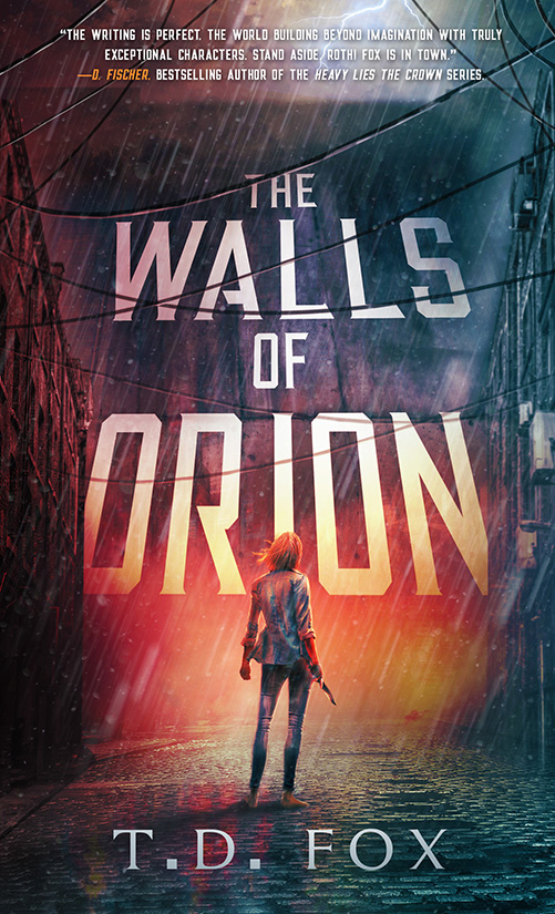 The Walls of Orion cover