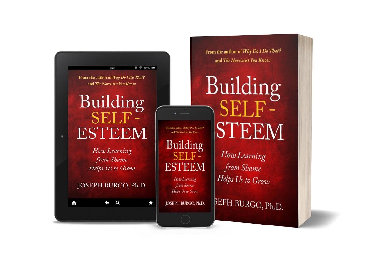 Building Self-Esteem tablet, paperback, phone