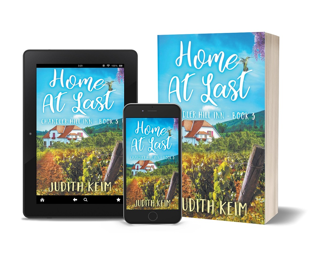 Home at Last  tablet, phone, paperback