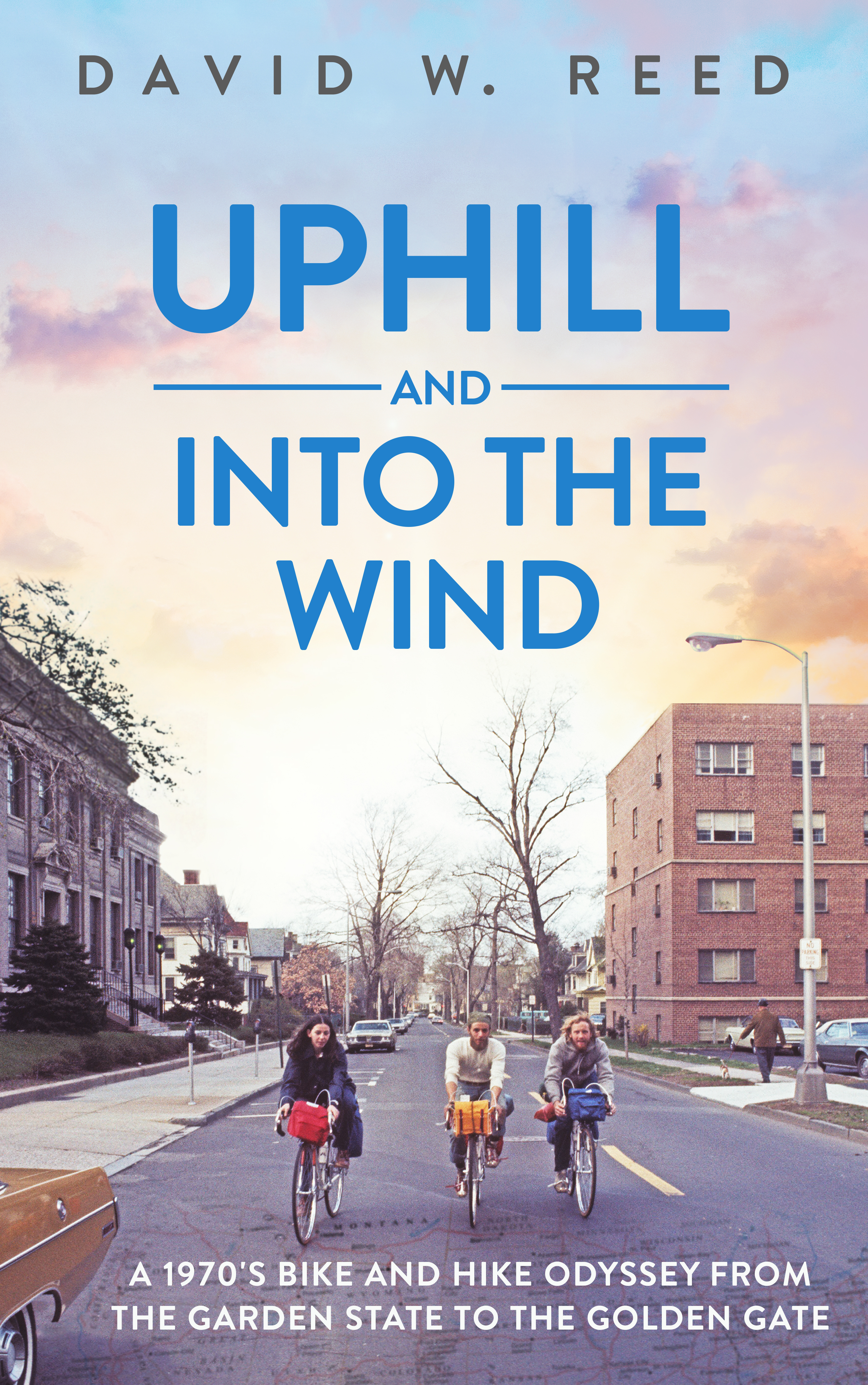 Uphill and Into the Wind cover
