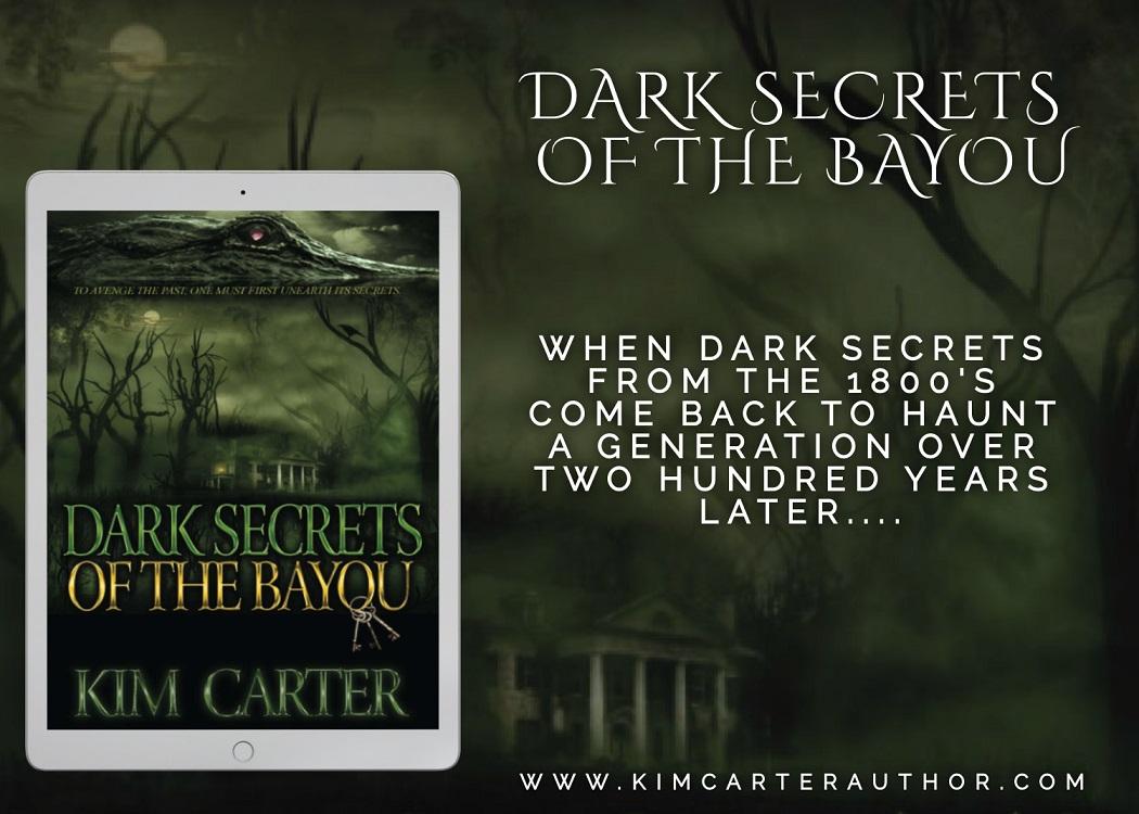 Dark Secrets of the Bayou tablet