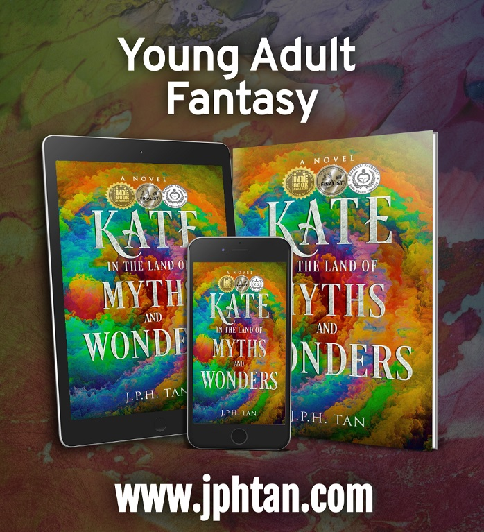 Kate in the Land of Myths and Wonders tablet, paperback,phone