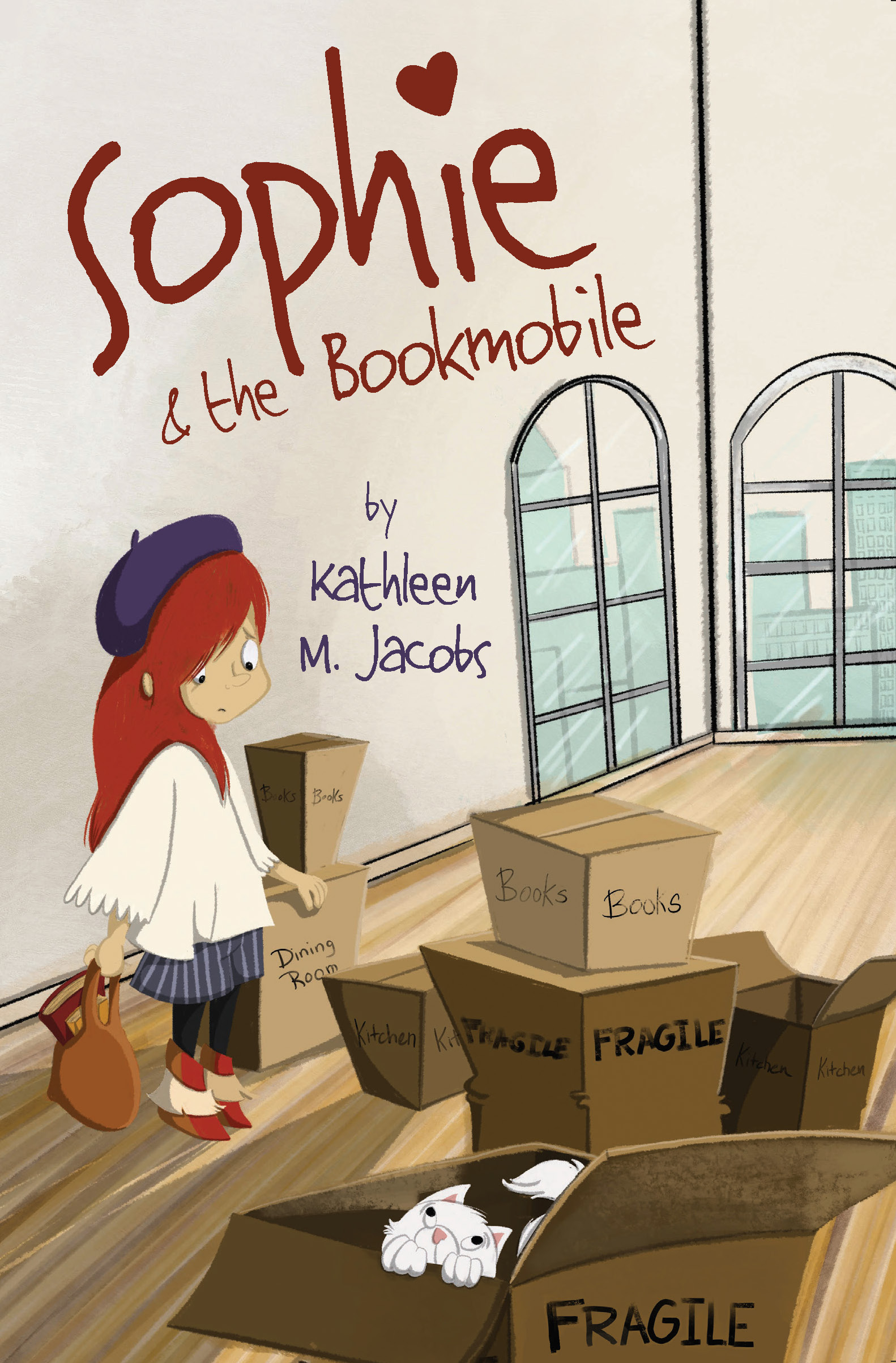 Sophie & The Bookmobile cover