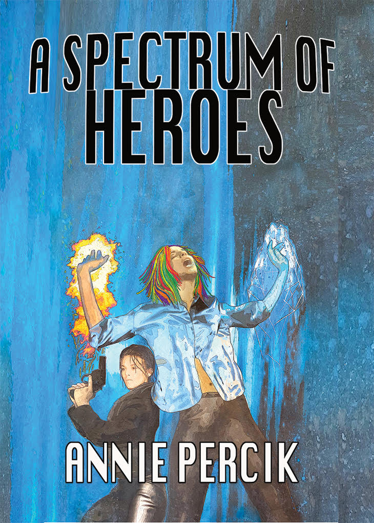 A Spectrum of Heroes cover