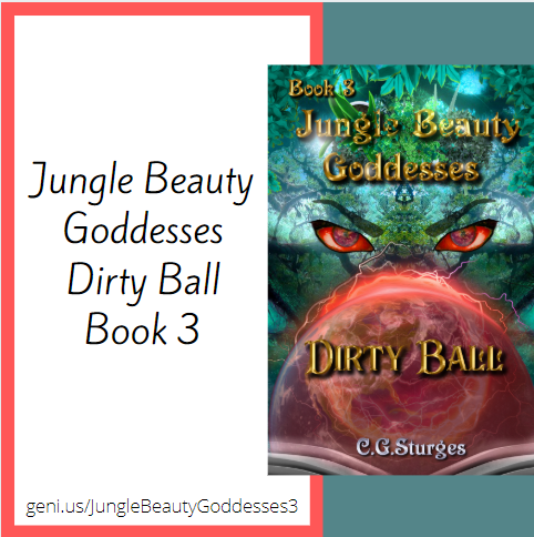 Jungle Beauty Goddesses: Dirty Ball banner 2