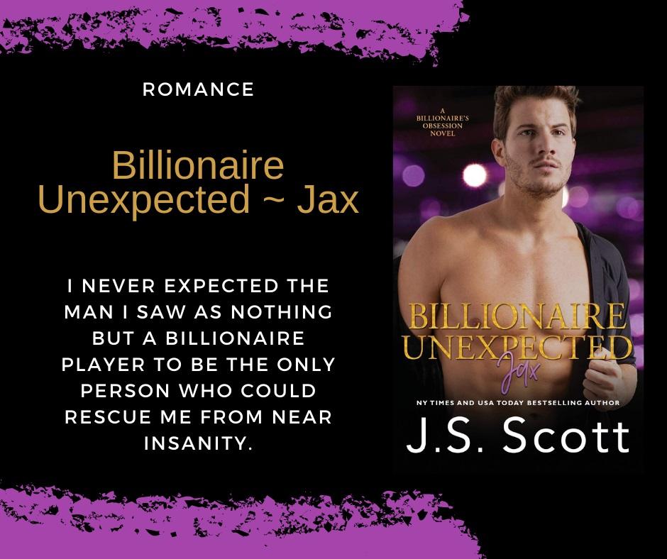Billionaire Unexpected: Jax teaser