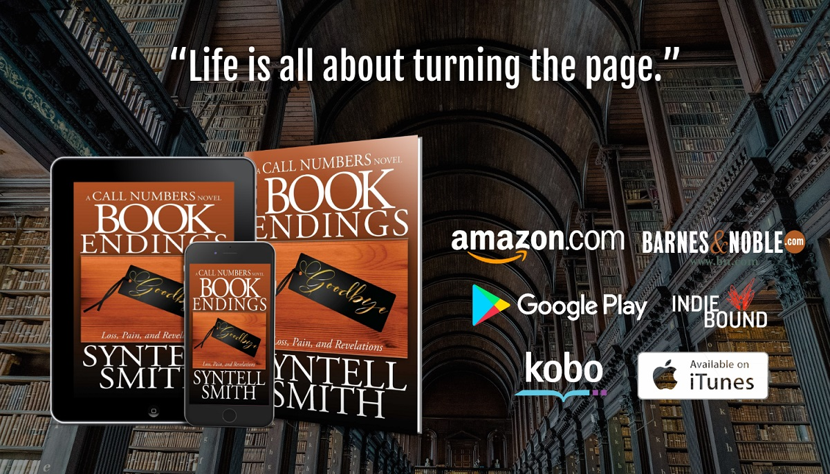 Book Endingstablet, phone, paperback