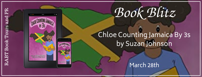 Chloe Counting Jamaica by 3s banner