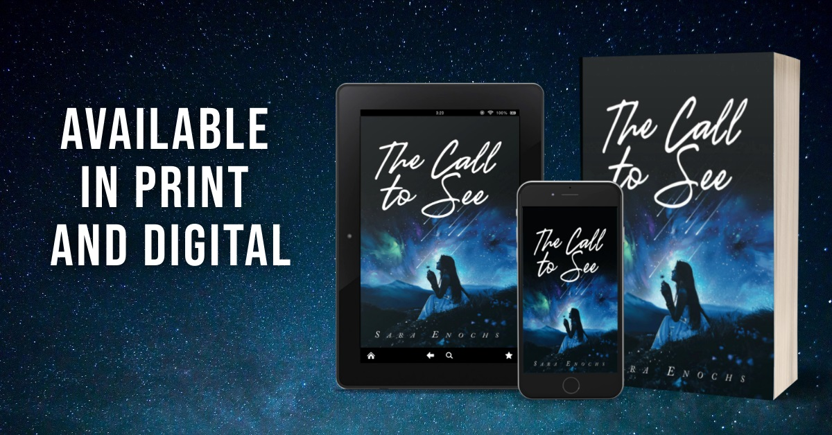 The Call To See tablet, phone,paperback