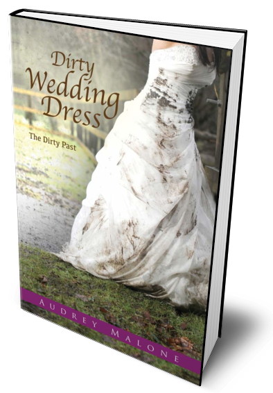 Dirty Wedding Dress standing book