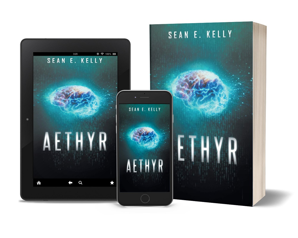 Aethyr tablet, phone, paperback