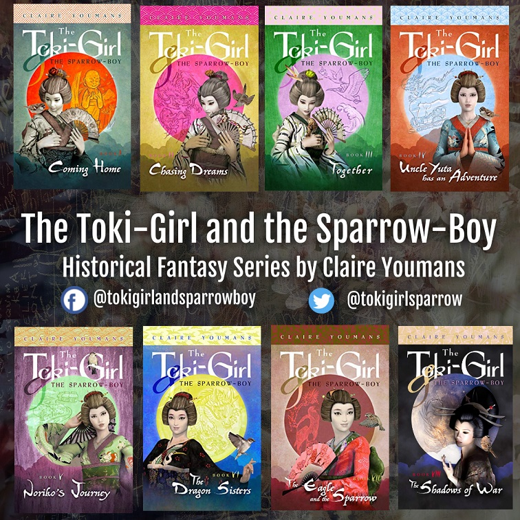 The Toki-Girl and the Sparrow-Boy Series banner