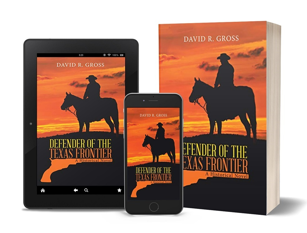 Defenders of the Texas Frontier tablet, phone, paperback