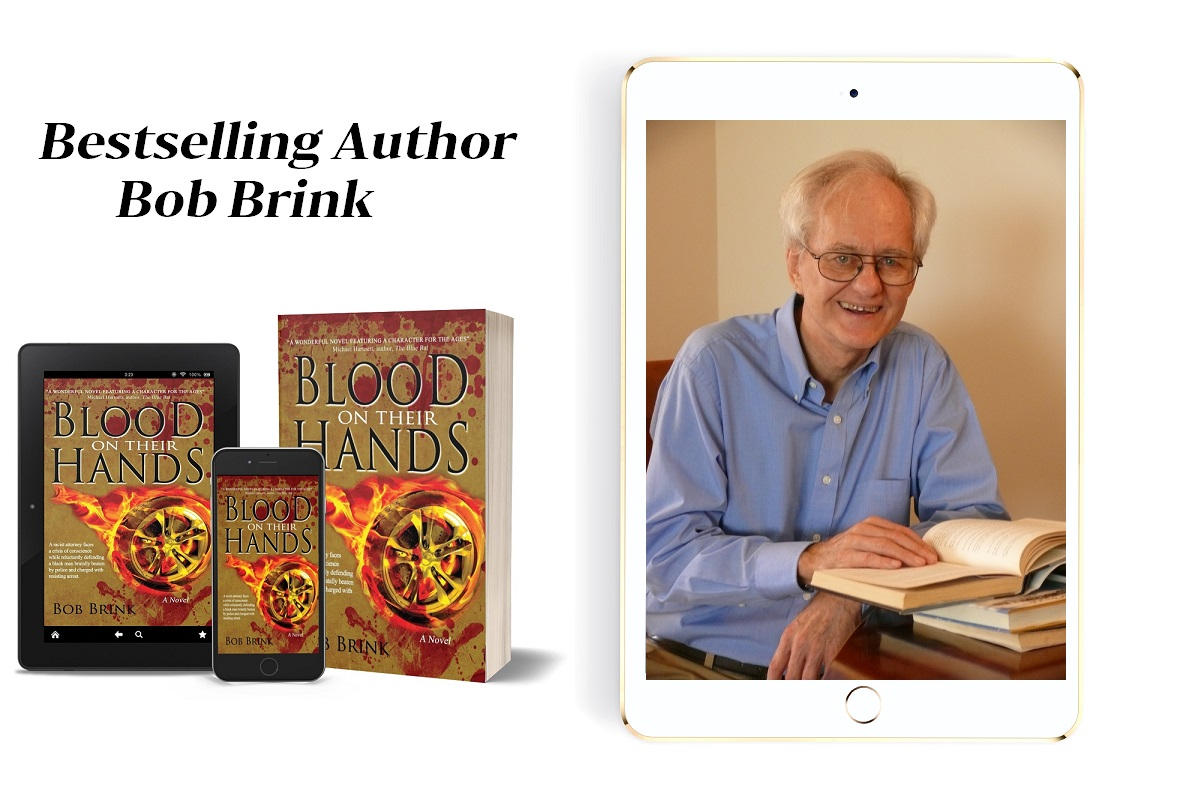 Blood on Their Hands tablet, phone, paperback
