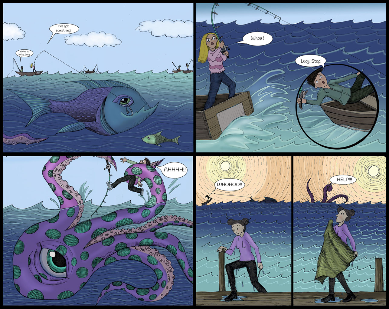 The Dragon in the Closet comic panel