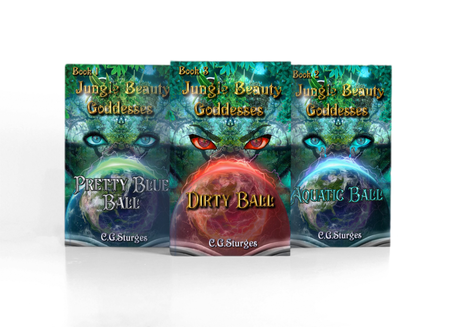 Jungle Beauty Goddesses: Dirty Ball series