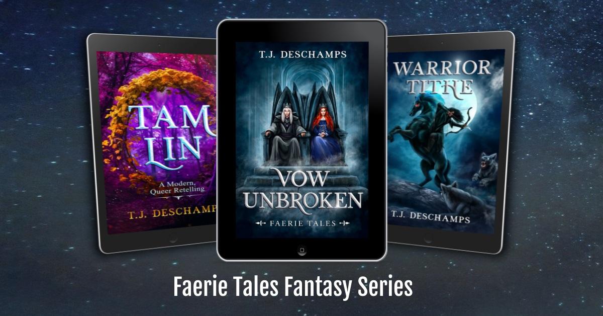 Faerie Tales Fantasy series banner