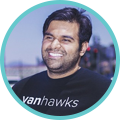 Sohaib Zahid, CEO and Co-Founder of Vanhawks. #VanStartupCity