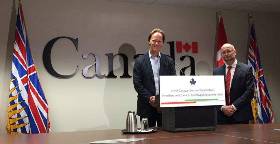 Ian McKay of the Vancouver Economic Commission & David Lametti