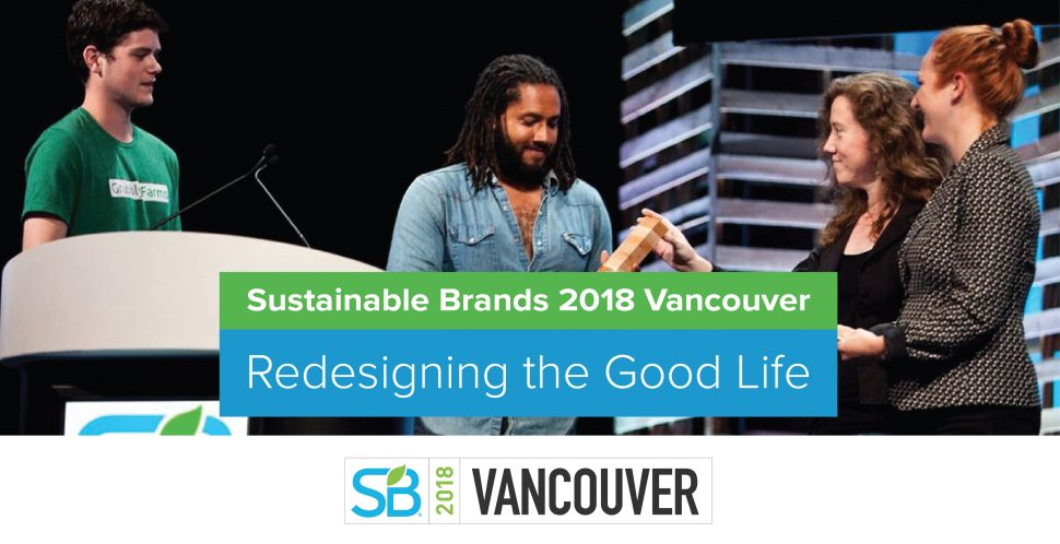 Sustainable Brands 2018 Vancouver
