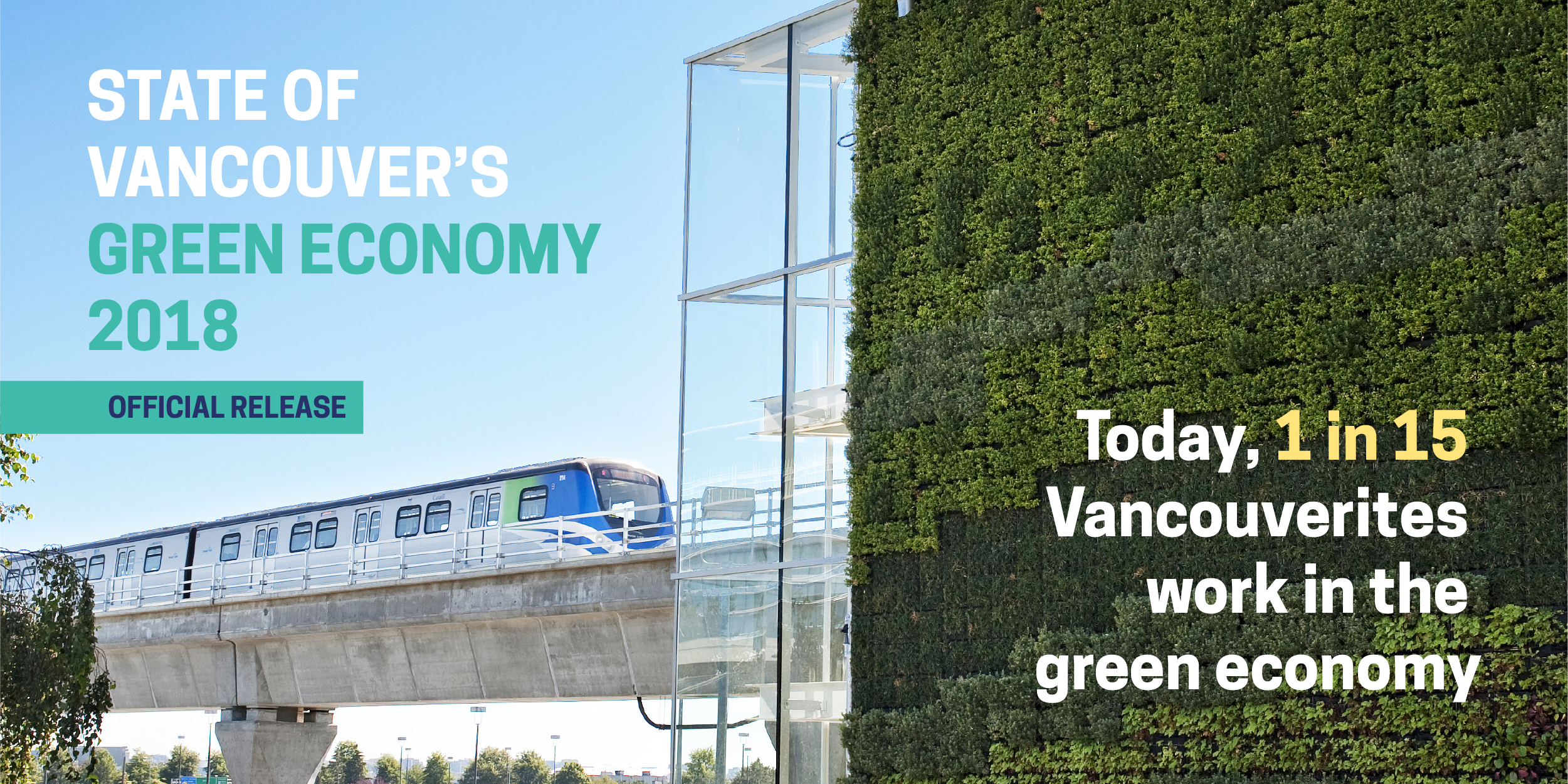 Today, one in 15 Vancouverites works in the green economy. In VEC's State of Vancouver's Green Economy 2018 report, you can read about over 200 leading green businesses making great strides in innovation and the development of low-carbon solutions to traditional and contemporary problems in buildings, energy, mobility and resource management.