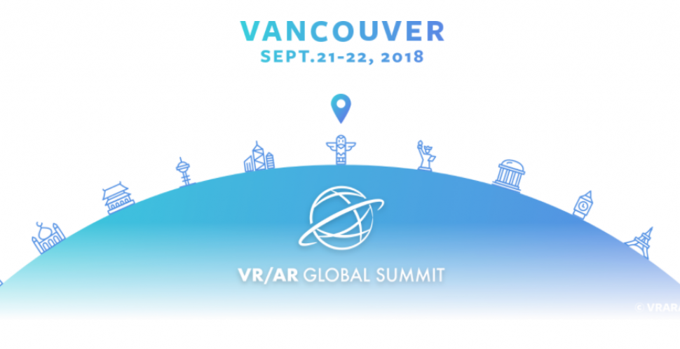The VR / AR Global Summit. The premiere marketplace and conference for industry leaders in immersive technology content, knowledge, and creation.