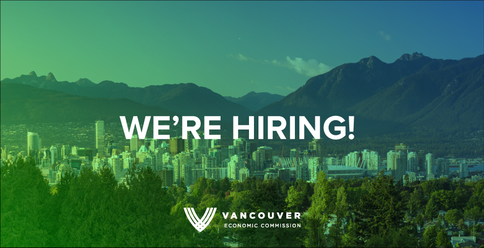 Vancouver Economic Commission is hiring