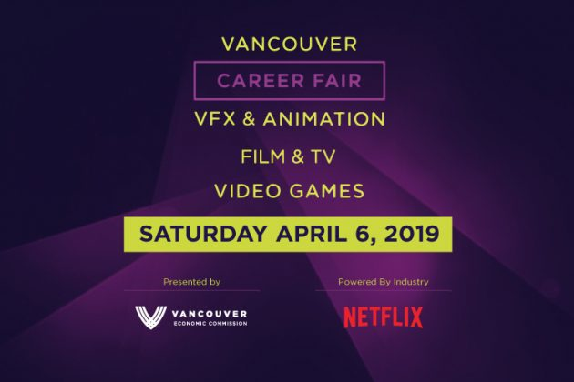 Vancouver Digital Entertainment Career Fair 2019 | Presented by the Vancouver Economic Commission | Powered by Netflix