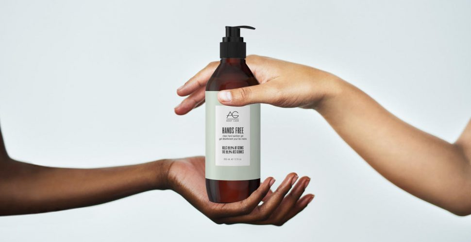 G Hair Pivots to Produce Hand Sanitizer to Relieve Shortage during COVID-19
