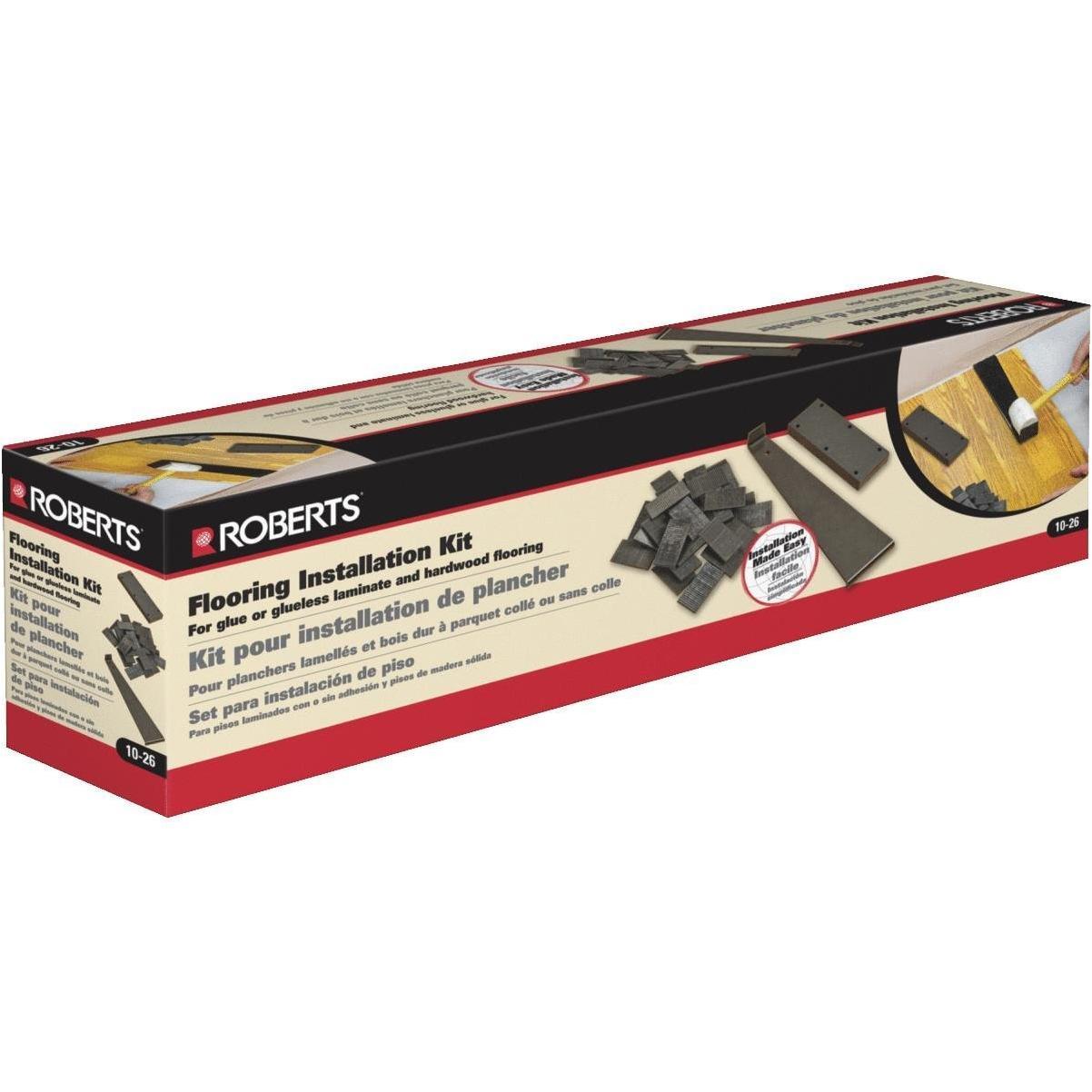 Roberts Glue Less Laminate Flooring, Glueless Laminate Flooring Installation