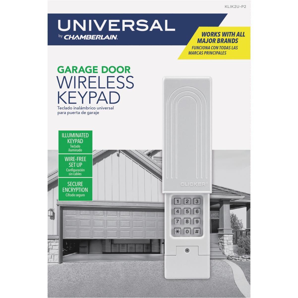 Chamberlain Original Clicker Universal Keypad Wireless Keyless Entry Hills Flat Lumber Grass Valley