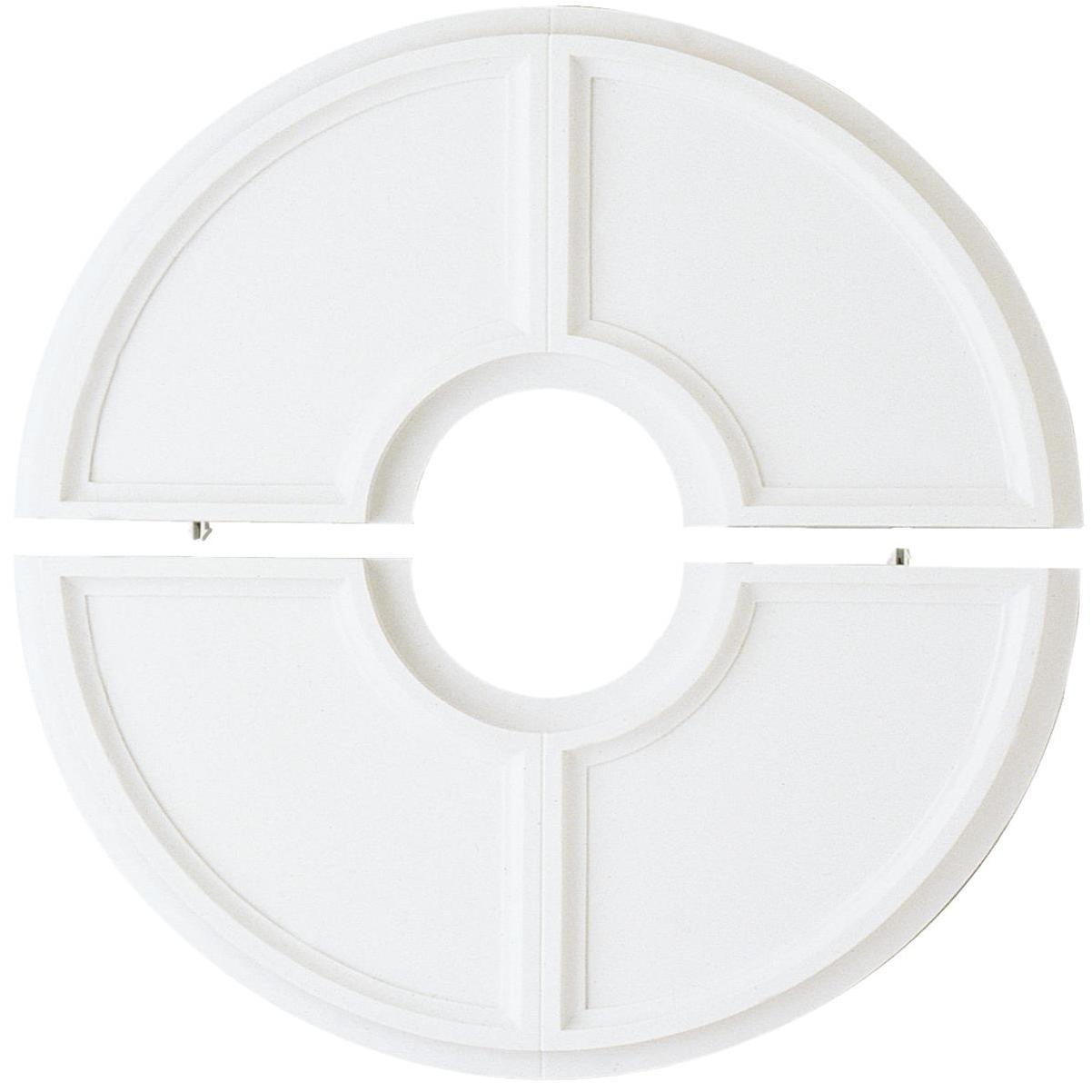 Westinghouse 4 1 2 In White Ceiling Fan Medallion 2 Piece Mcdaniel S Hardware
