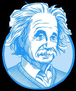 Albert Einstein class=