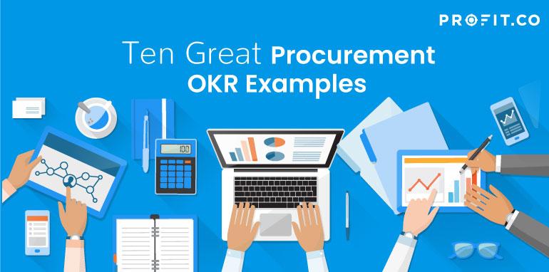 Procurement OKRs