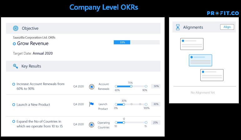 Company Level OKRs