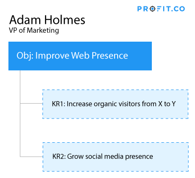 Objective and Keyresults in Profit