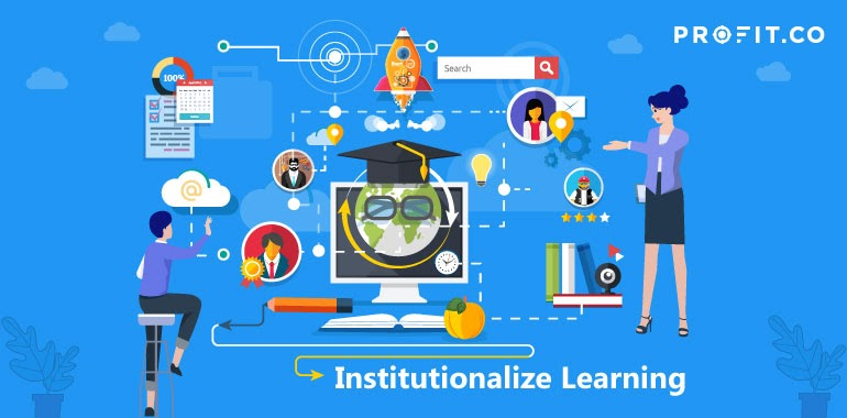 Institutionalize Learning