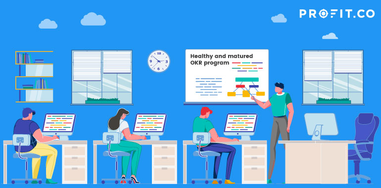 Healthy-and-Matured OKR Program
