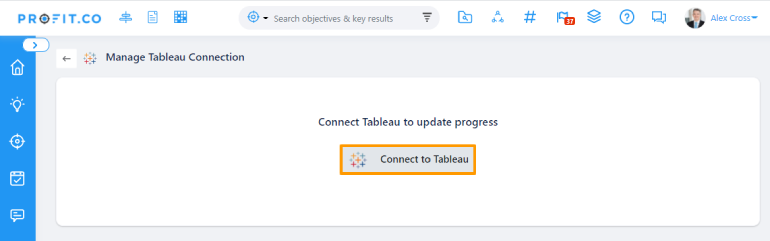 Connect to Tableau