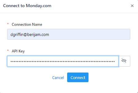 Connect Monday
