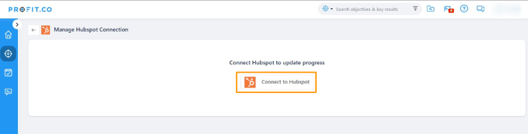 Connect to Hubspot