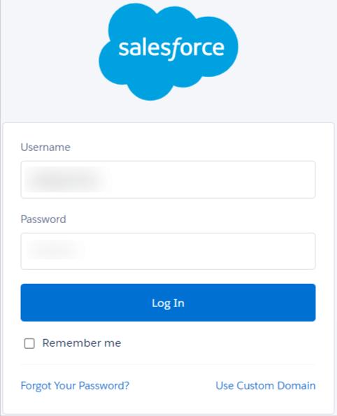 Login Salesforce