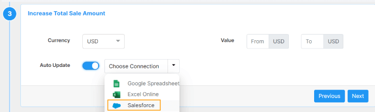 Choose Salesforce