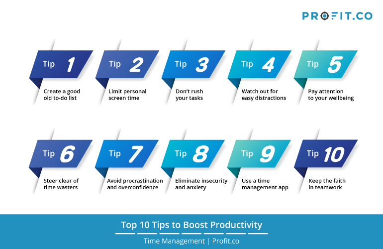 Top 10 tips for boost activity