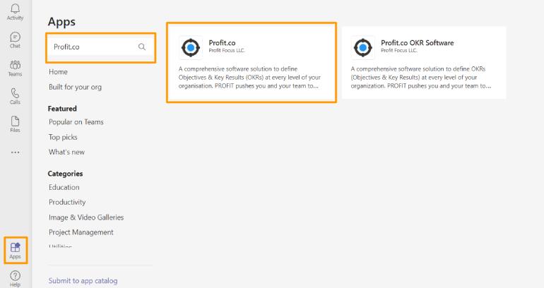 Install Profit.co App