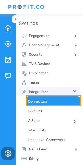 Select connectors