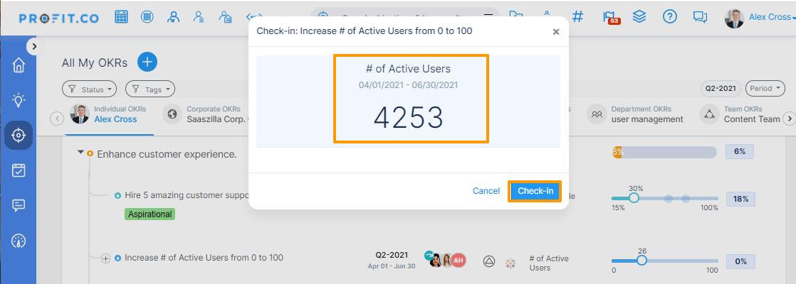 Increase Active User