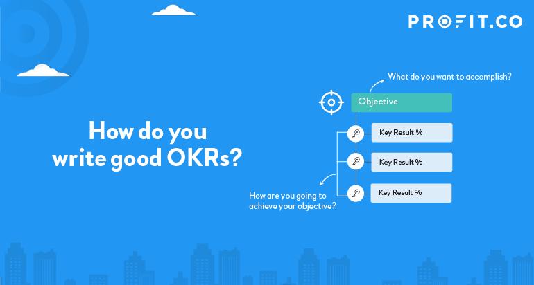How do you write good OKRs?