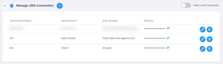Manage Jira Accounts